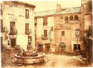 Antigua fuente de San Martín
