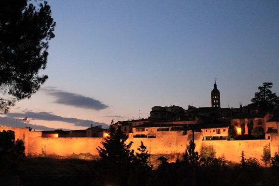 Muralla noche