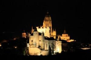 Segovia nocturna