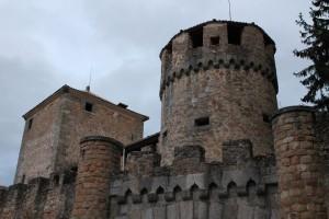 Casa de las Cadenas desde el palacio de Quintanar